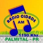 ZYJ355 Rádio Cidade, Palmital, PR BRA 1190