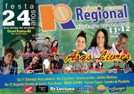 Radio Regional Cicero Dantas 1320